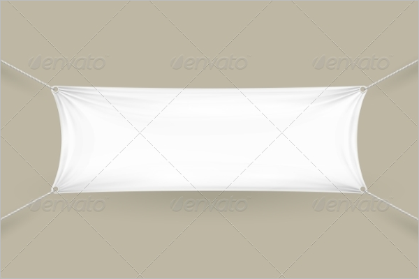 Horizontal Fabric Banner Design