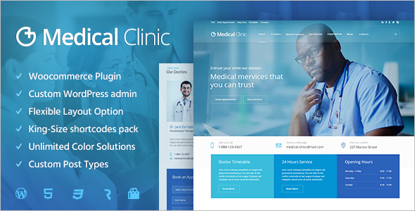 Hospital Website WordPress Theme
