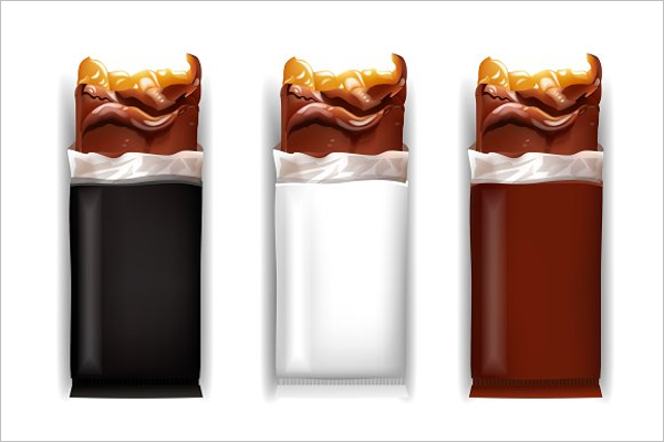Illustration Candy Bars Template