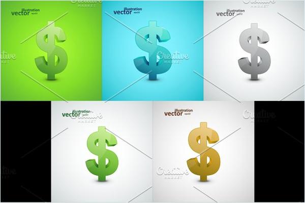 Illustration Dollar Vector Design