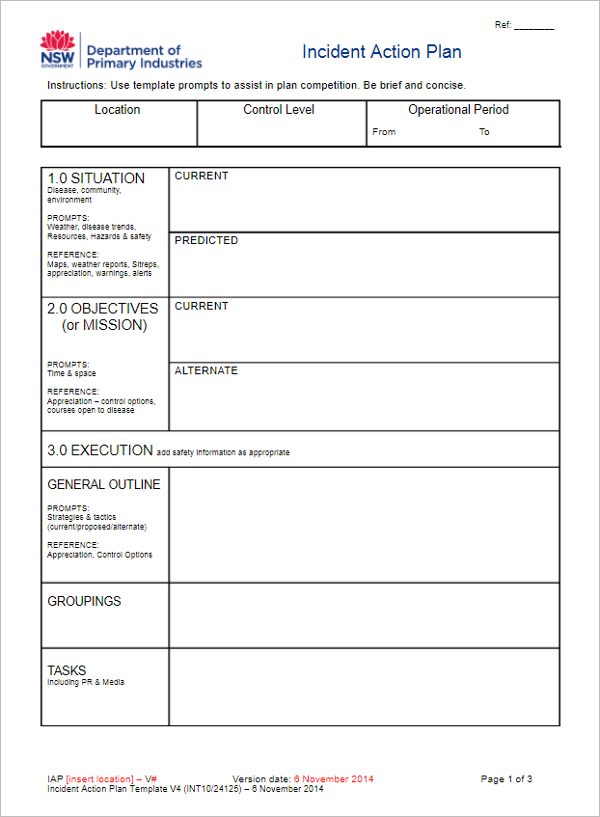 31+ Action Plan Templates Free Excel, Word, Examples, Samples ...