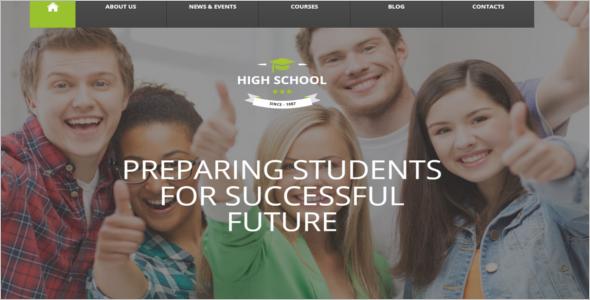 Institute Website Template