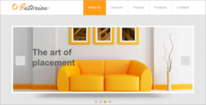 Interior Design HTML Template