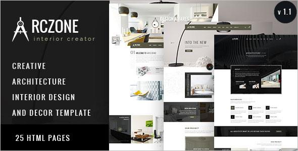 Interior Design HTML Website Template