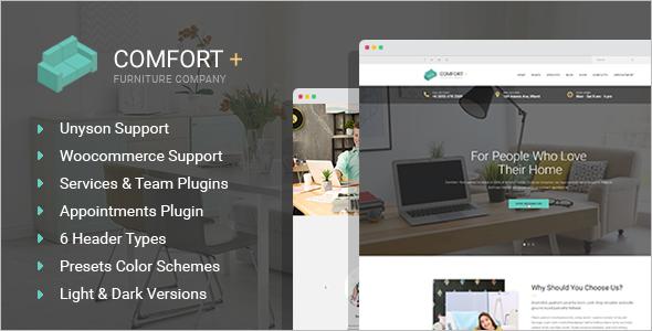 Interior Design WordPress Theme