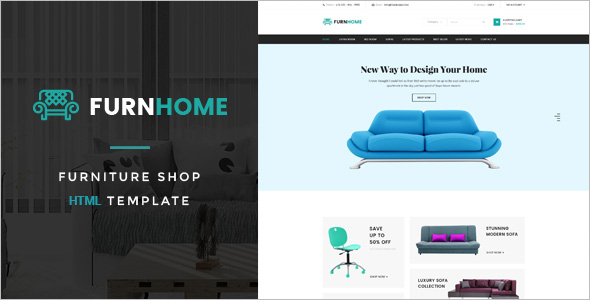 Interior Or Furniture HTML Template