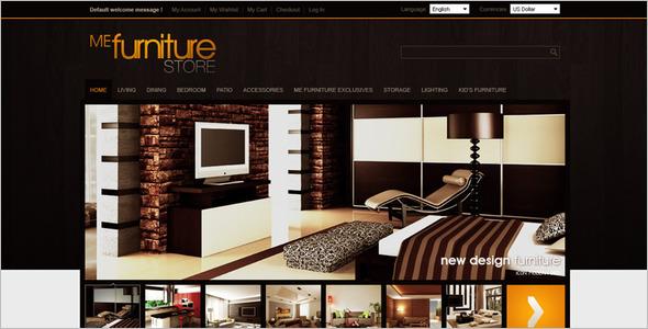 Interior Website Template