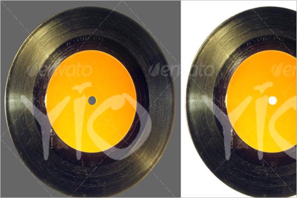 Isolated Vinyl Design