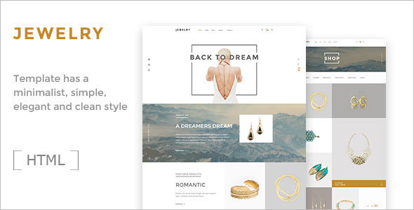 Jewelry Ecommerce Template