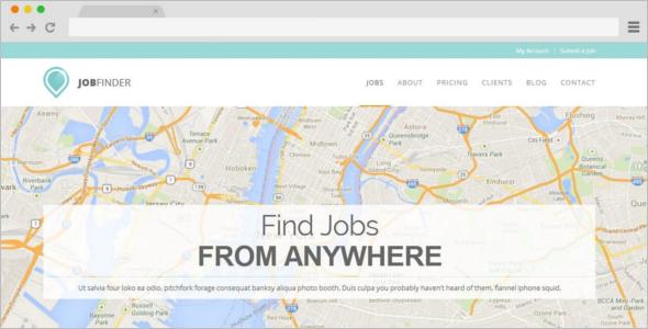 Job Finder Board Template