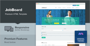 Job Market HTML Template