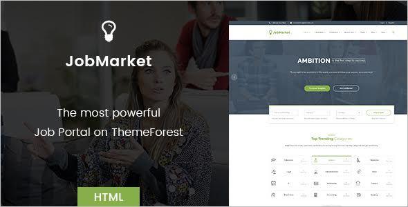 Job Portal Template
