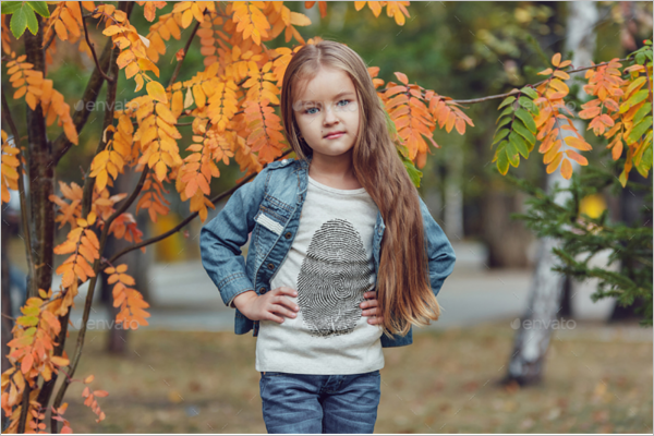 Kids Sweatshirt MockUp