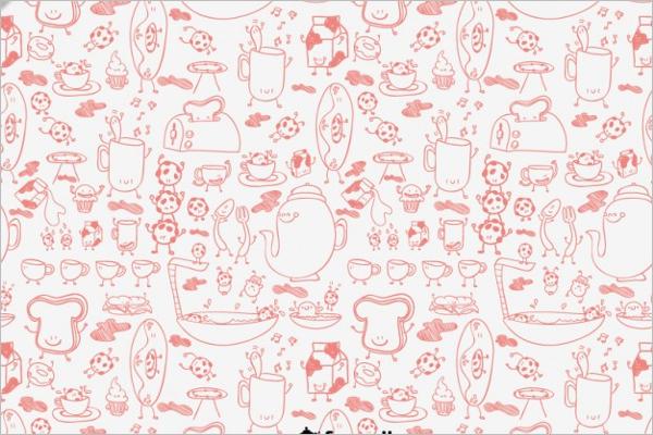 Kitchen Graphic Pattern Design
