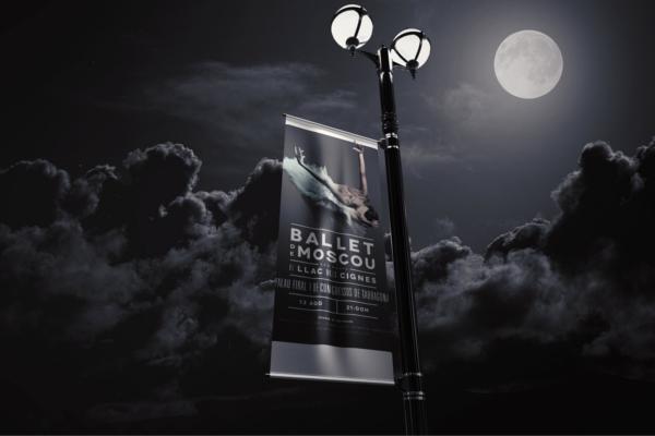 Lamp Banner Mockup Design