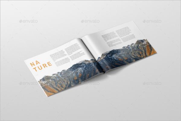 LandscapeMagazine Mockup Design
