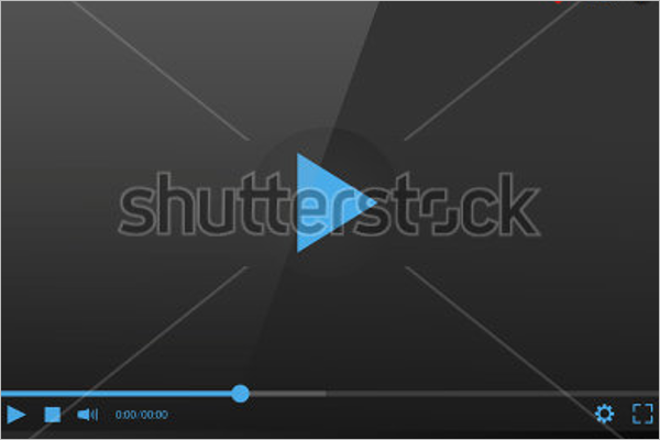 Laptop Video Mockup Template