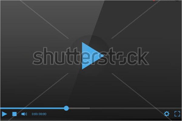 Laptop Video Mockup Template
