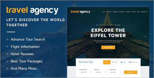 Latest Agency HTML Template