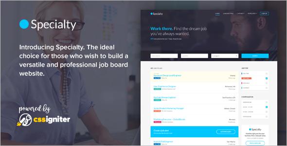 Latest Job Board HTML Template