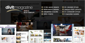 Latest Magazine HTML5 Template