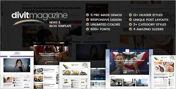 Latest Magazine HTML5 Template