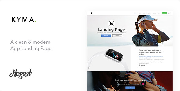 Latest One Page Parallax Template
