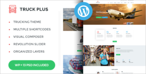 Logistics Service WordPress Theme