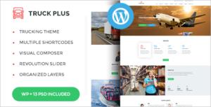 Logistics Service WordPress Theme