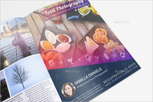 Magazine Advertisement Mockup Template