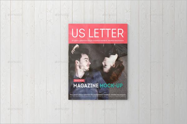 Magazine Booklet Mockup Template