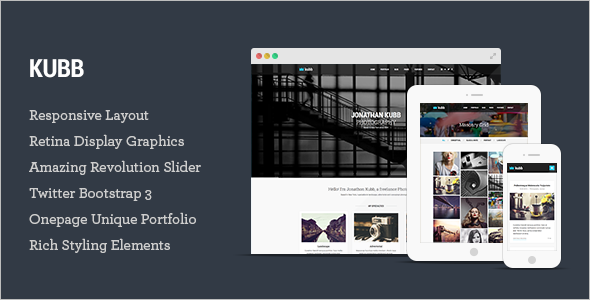 Magazine Business HTML5 Template