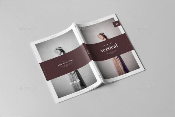 Magazine Cover Mockup Template