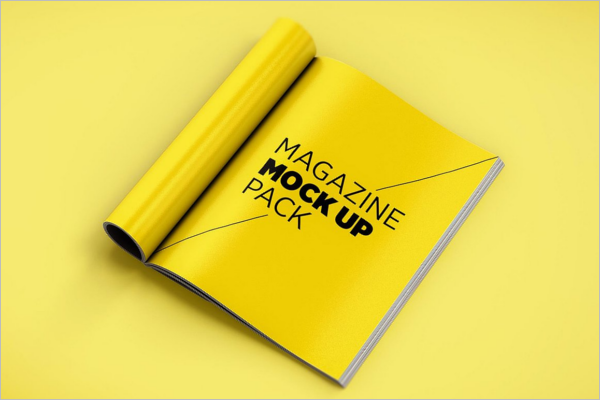 Magazine Mockup Design Pack