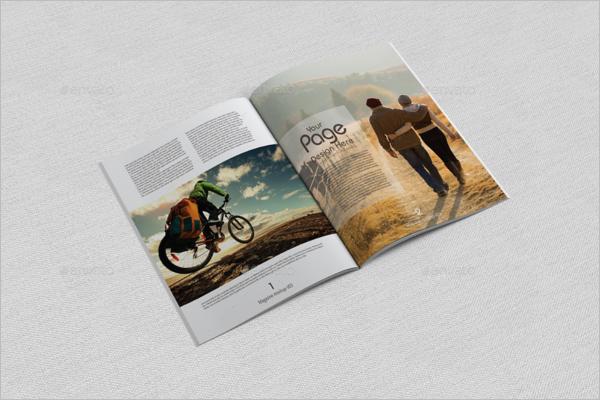 Magazine Mockup Design