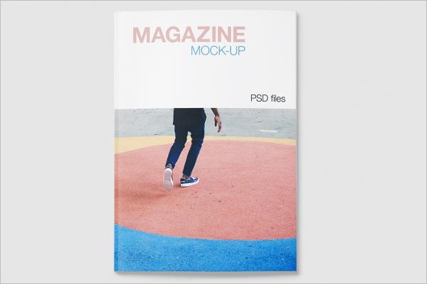 Magazine PSD Mockup Template Download