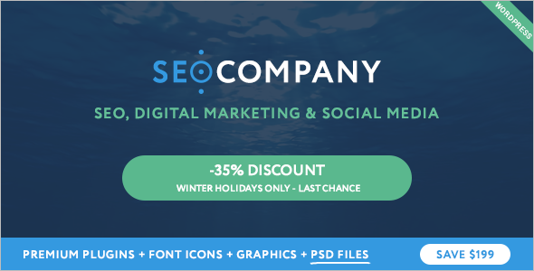 Marketing & SEO WordPress Theme