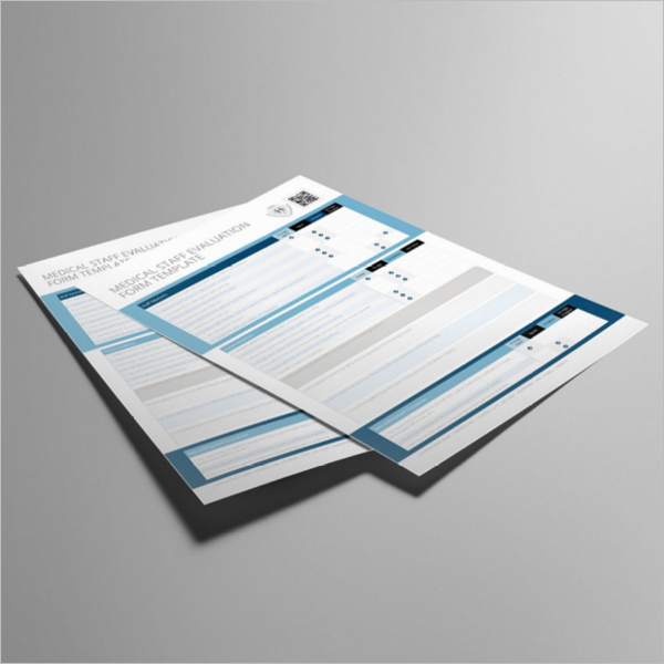 Medical Staff Form Template