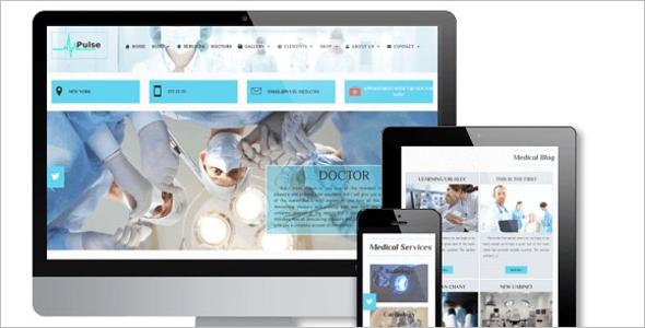 Medical Store WordPress Theme