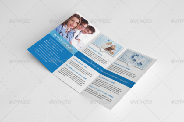 Medical Trifold A4 Template