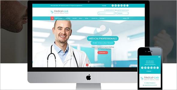 Medical Website WordPress Template