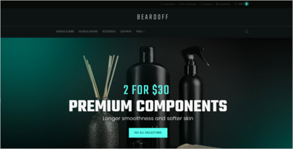 Men's Products Responsive WooCommerce Theme