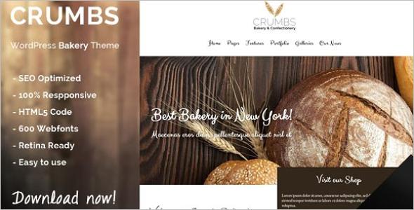 Minimal Bakery WordPress Theme
