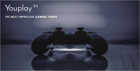 Minimal Gaming WordPress Theme