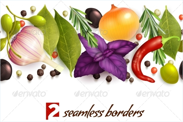 Minimal Vegetable Pattern Design