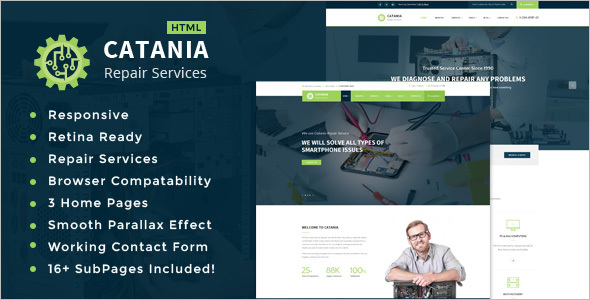 Mobile Repair HTML Template