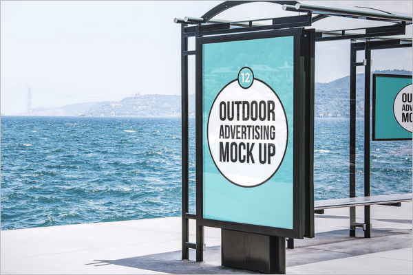 Mockup Advertising PSD Template
