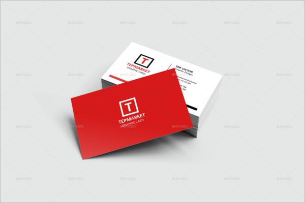 Mockup Business Card Design