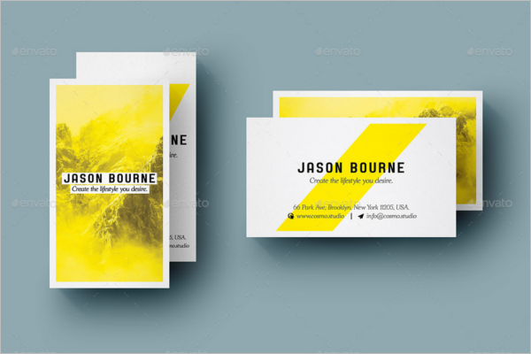 Mockup Business Card PSD Template