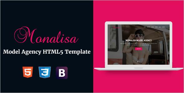 Model Agency HTML5 Template